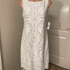 Jessica Howard White Dress Sz 6